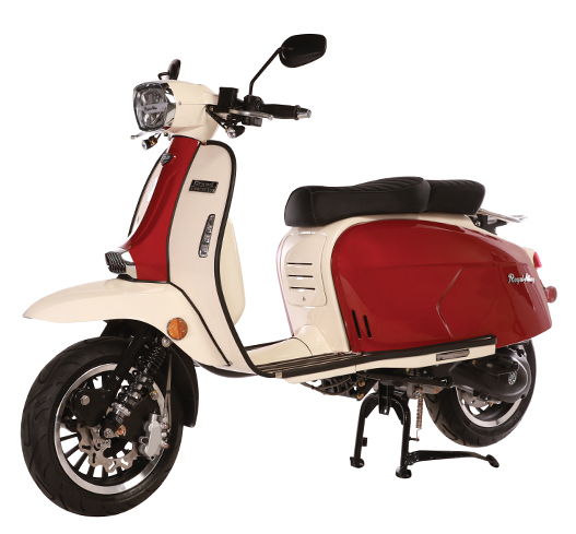 Royal Alloy GT 150 -Red-Creme