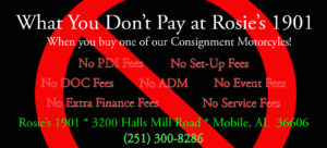 Rosie's 1901 - Don't Pay